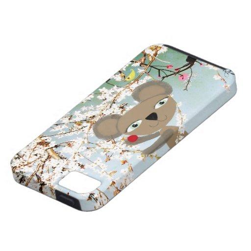 Oso de koala iPhone 5 carcasas