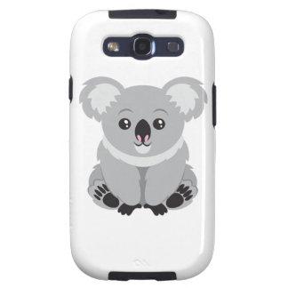 Oso de koala lindo galaxy s3 fundas