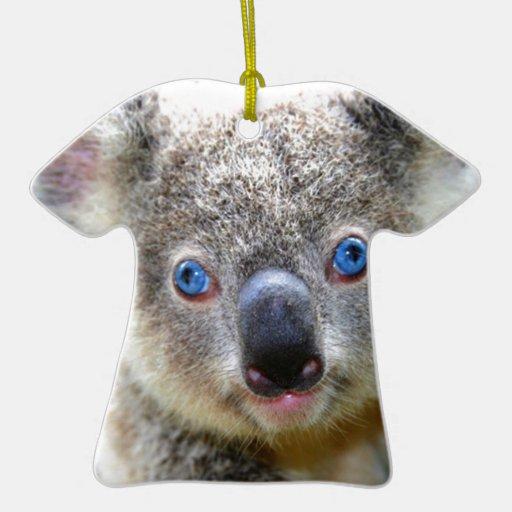 Oso de koala lindo ornamento de reyes magos