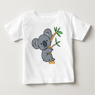 Oso de koala lindo playera para bebé