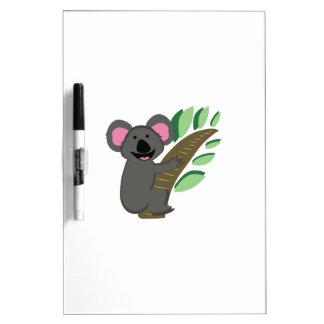 Oso de koala pizarra