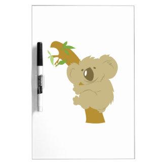 Oso de koala pizarras