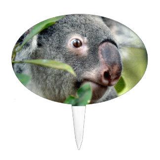 oso de koala que mira el ojo ascendente c.jpg del  decoraciones para tartas