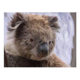 Oso de koala tarjeta postal