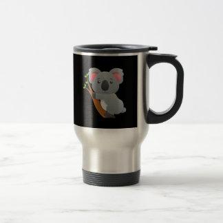 Oso de koala taza de viaje