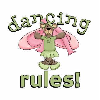 Oso de la bailarina de las reglas del baile escultura fotografica