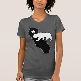 Oso de la bandera del estado de California (estilo Playera