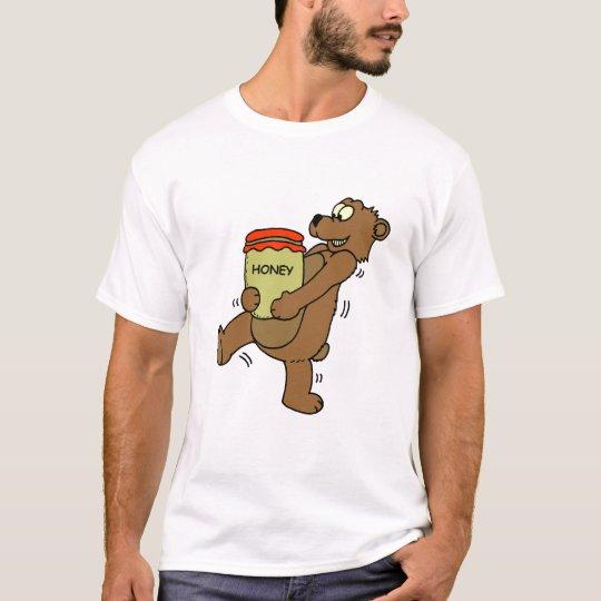 Oso de la camiseta: Miel Playera