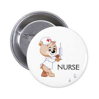 Oso de la enfermera pin