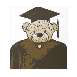 Oso de la graduación blocs