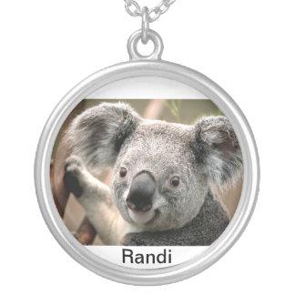Oso de la koala de Randi Colgante Redondo