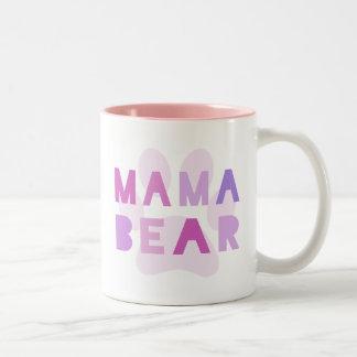 Oso de la mamá taza
