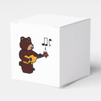 Oso de la música cajas para regalos