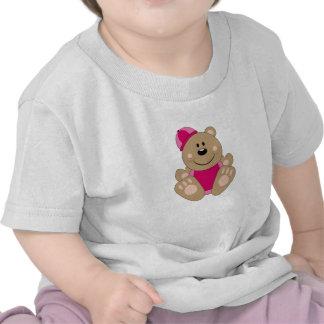 Oso de la nieve de la niña de Cutelyn Camiseta