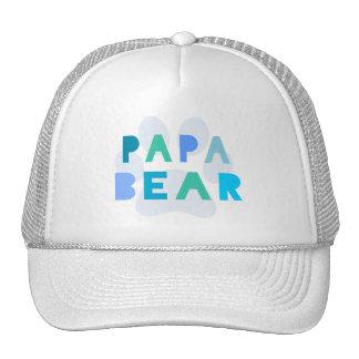 Oso de la papá gorras
