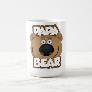 Oso de la papá tazas