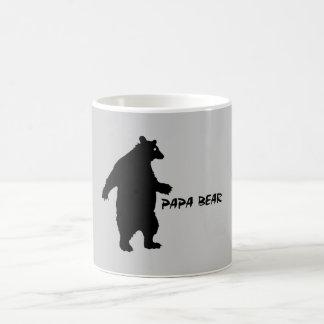 Oso de la papá taza de café