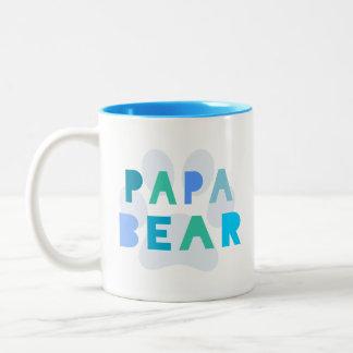Oso de la papá taza