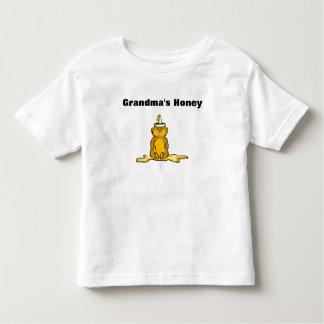 Oso de miel de la camiseta de los niños playera de niño