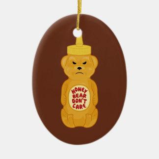 Oso de miel ornamento para arbol de navidad