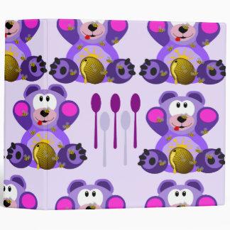 Oso de miel del FMS con las cucharas