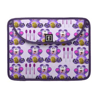 Oso de miel del FMS con las cucharas Funda Para Macbooks