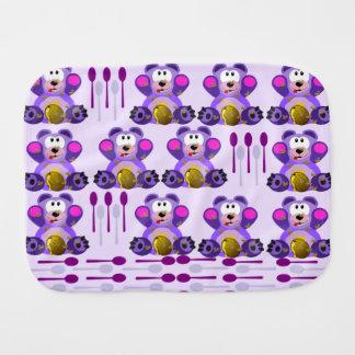 Oso de miel del FMS con las cucharas Paños Para Bebé