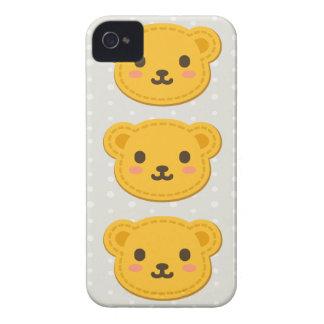 Oso de miel lindo Case-Mate iPhone 4 funda