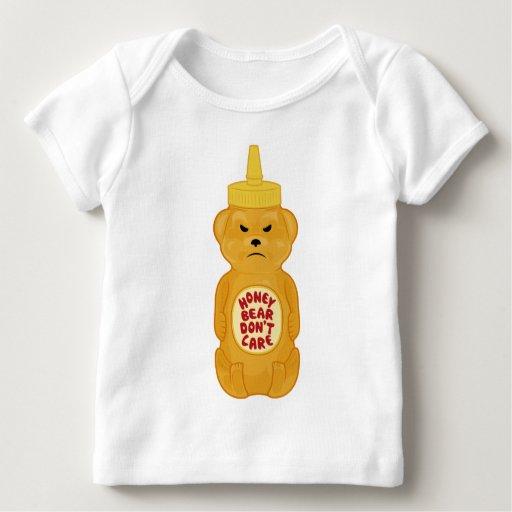 Oso de miel playera de bebé