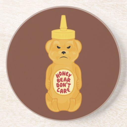 Oso de miel posavaso para bebida