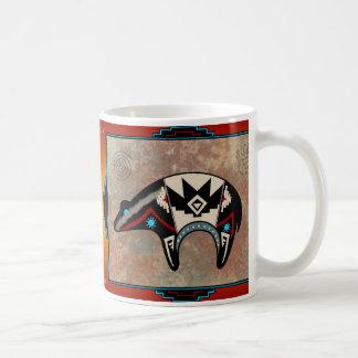 Oso de Navajo Taza De Café