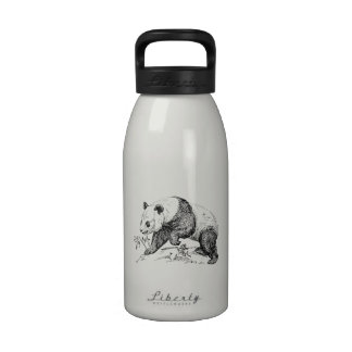 Oso de panda botella de agua reutilizable