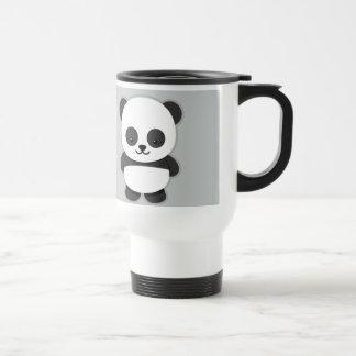 Oso de panda animado taza térmica