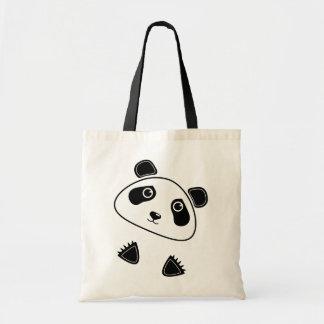 Oso de panda bolsa tela barata