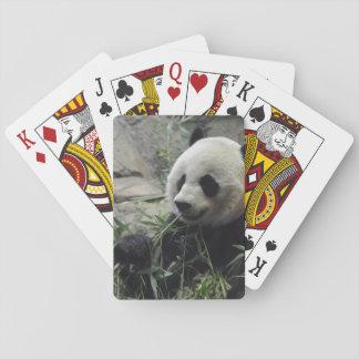 Oso de panda chino gigante naipes