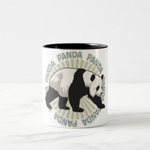 Oso de panda clásico tazas