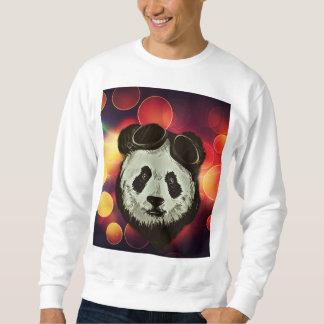 Oso de panda con el arte de Bokeh Suéter