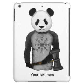 Oso de panda con el martillo de Viking