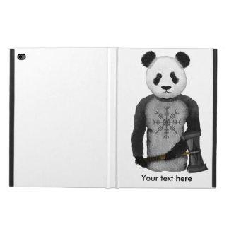 Oso de panda con el martillo del Thor