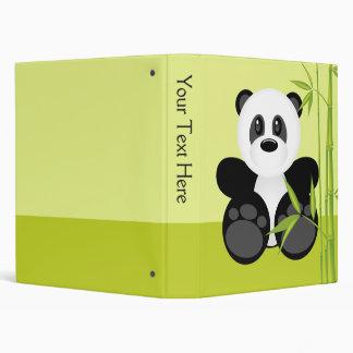 """Oso de panda de bambú carpeta 1"""""""
