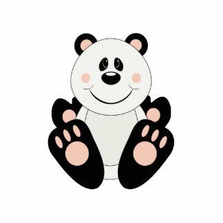 Oso de panda de Cutelyn Escultura Fotográfica