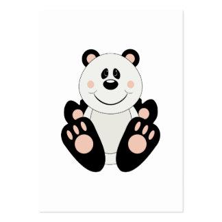 Oso de panda de Cutelyn Plantilla De Tarjeta De Negocio