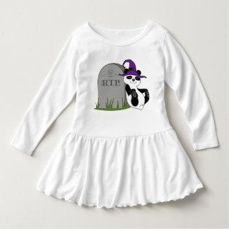 Oso de panda de Halloween con la piedra grave Camisas