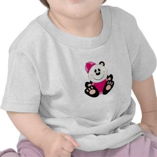 Oso de panda de la nieve de la niña de Cutelyn Camiseta