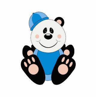 Oso de panda de la nieve del bebé de Cutelyn Escultura Fotográfica