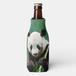 Oso de panda de la pintura Hui largo Enfriador De Botellas