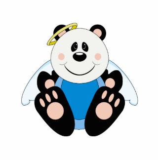 Oso de panda del ángel del bebé de Cutelyn Esculturas Fotográficas