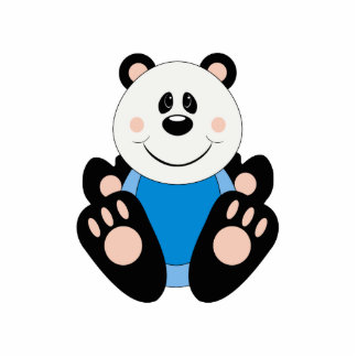 Oso de panda del bebé de Cutelyn Esculturas Fotográficas