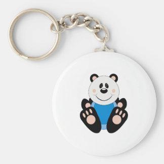 Oso de panda del bebé de Cutelyn Llaveros Personalizados