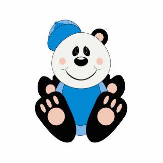 Oso de panda del béisbol del bebé de Cutelyn Esculturas Fotográficas